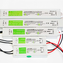 Waterproof IP67 LED Driver 12V 10W 15W 20W 24W 30W 36W 45W 50W 60W 80W 100W 120W 150W Power Supply for LED strip 3528 5050(China)