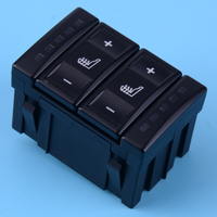 Black Electric Seat Heating Button Heated Switch Control BS7T19K314AB Fit for Ford Mondeo MK4 S-MAX Galaxy