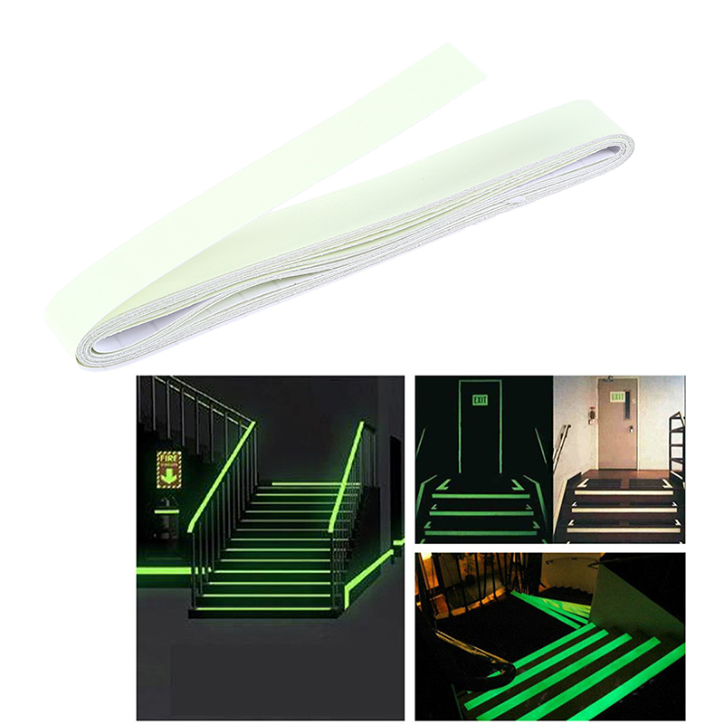Luminous Tape 4m DIY Self Adhesive Stage Stair Glow In The Dark Warning  Strip Emergency Lines Wall Sticker Cinta Luminicente In Wall Stickers From  Home ...