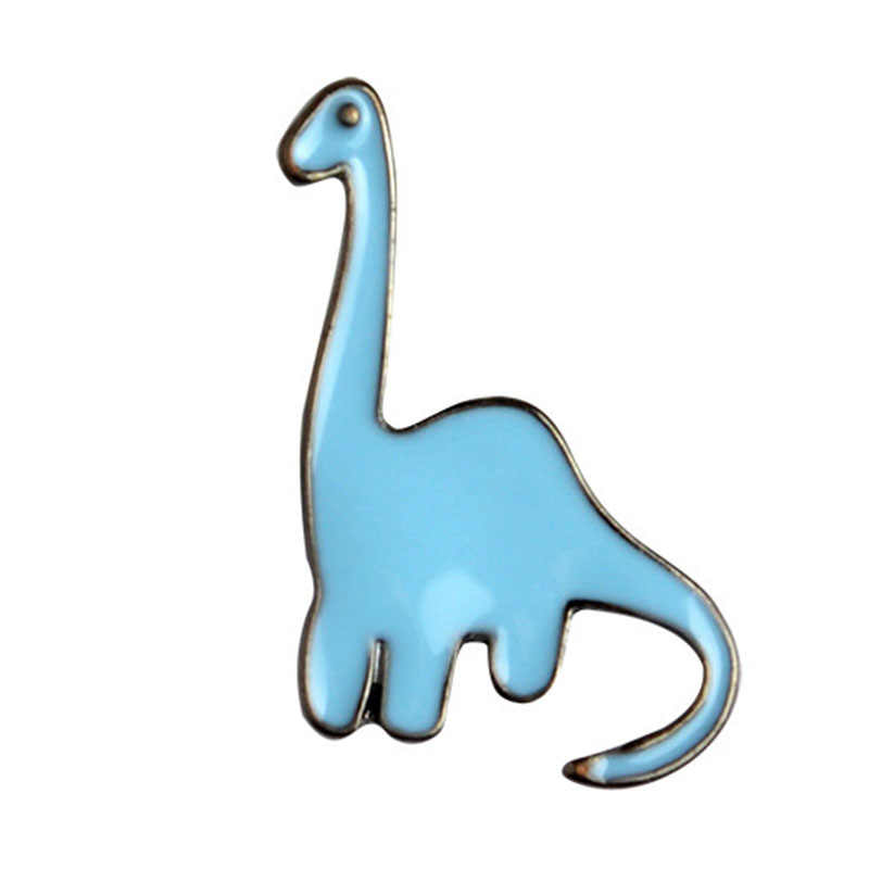 Venda quente Crânio Criativo Boneca dinossauro Dos Desenhos Animados Broches Mulheres Denim Roupas Crachá Botão Broche de Jóias Para os amigos
