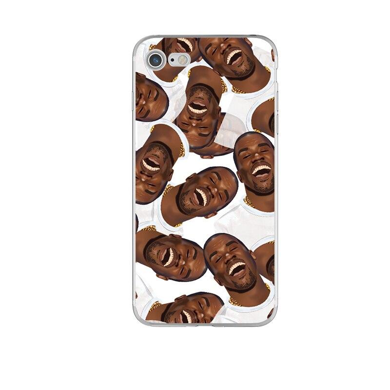 Kimoji чехол для телефона Kylie Ким Кардашян Канье Cry Уход за кожей лица Coque для iPhone 6 6S 5 5S 7 SE 7 Plus 6S плюс прозрачный силиконовый TPU крышка