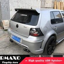 Для Volkswagen GOLF 4 спойлер 2001-2006 mk4 высокое качество абс материал заднее крыло праймер цвет задний спойлер
