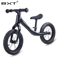 Full Carbon Fiber Bike BXT Pedal Less Balance Bike Carbon Kids Balance Bicycle For 2 6