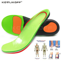 554a53d27 Palmilha Ortopédicos Para As Mulheres. KOTLIKOFF High Quality EVA Orthotic  Insole For Flat Feet Arch Support Orthopedic Shoes Sole Insoles For
