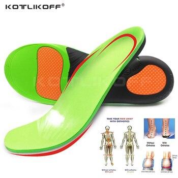 87574056 KOTLIKOFF de alta calidad de EVA ortesis plantilla para los pies planos  soporte de arco zapatos ortopédicos suela plantillas para hombres y zapatos  de mujer ...