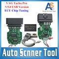 2016 Оптовая Цена Vag Tacho USB Версии 5.0 К + INPA Профессиональный ЭКЮ чип-Тюнинг Инструмент V5.0 VAGTacho Для NEC MCU 24C32 или 24C64