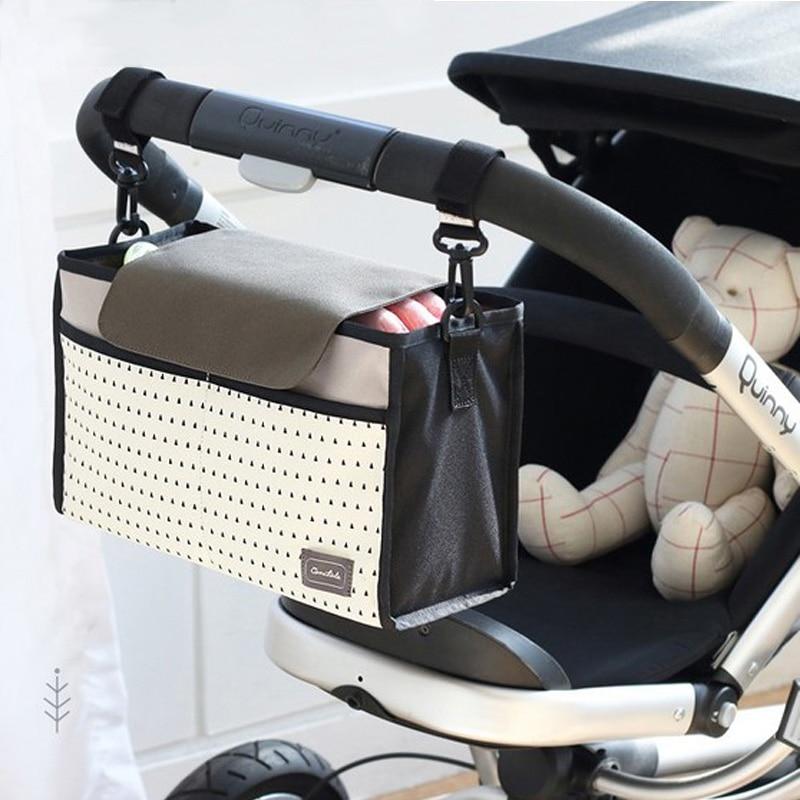 Bébi babakocsi táska Általános babakocsi szervező táska tolószékekhez babakocsi kiegészítők baba pram buggy táskák kocsi táska anya