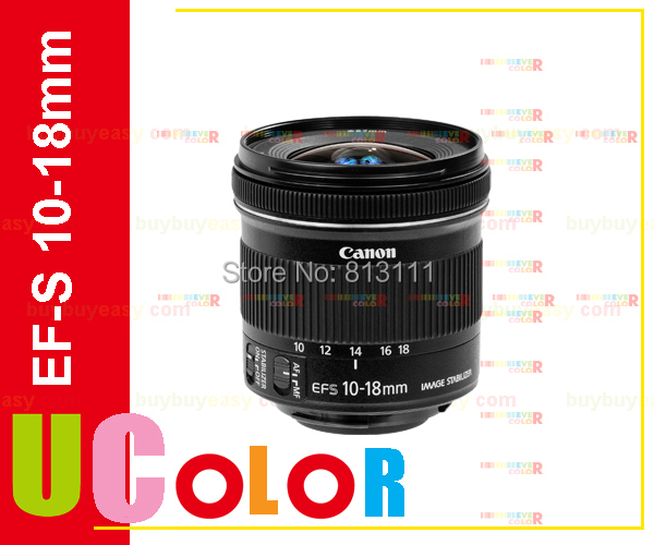 Canon EF-S 10-18mm f/4.5-5.6 IS STM Wideangle Zoom Lens For 650D 700D 750D 760D 77D 800D 70D 80D canon ef s 55 250mm f 4 5 6 is stm