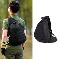 Field Tactical Chest Sling Pack Outdoor Sport Bag One Single Shoulder Man Big Large Ride Travel