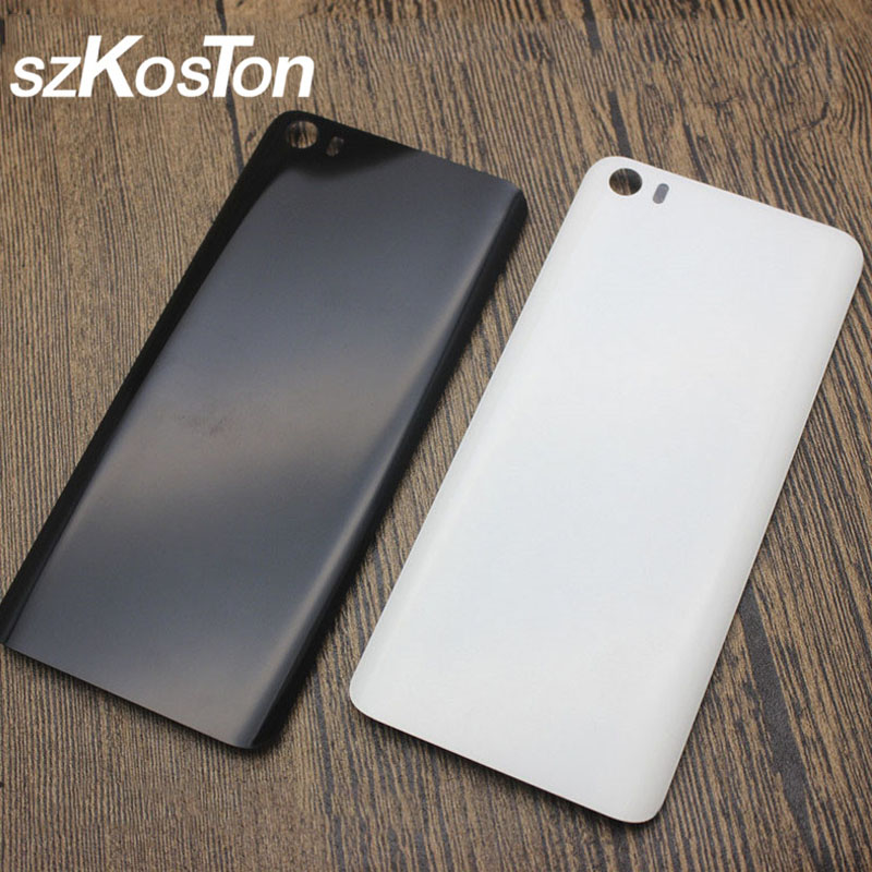 High Quality Plastic Battery Back Cover For Xiaomi Mi5 Mi 5 M5 Back Battery Door Rear Housing Cover Replacement For Xiaomi Mi 5