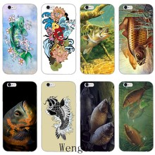 CARP FISHING Tattoo art slim Ultra Thin TPU Soft phone cover case For Huawei Mate 7 8 9 10 lite Pro Y3 Y5 Y6 II Pro Y7 GR5 2017(China)