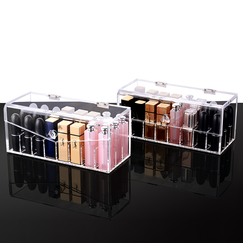 2 Kinds Lipstick With Lid Acrylic Lipstick/Nail