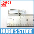 LYS04 XXL  Extra Large 100PCS/Lot 28mm Stainless Steel Quick Snap