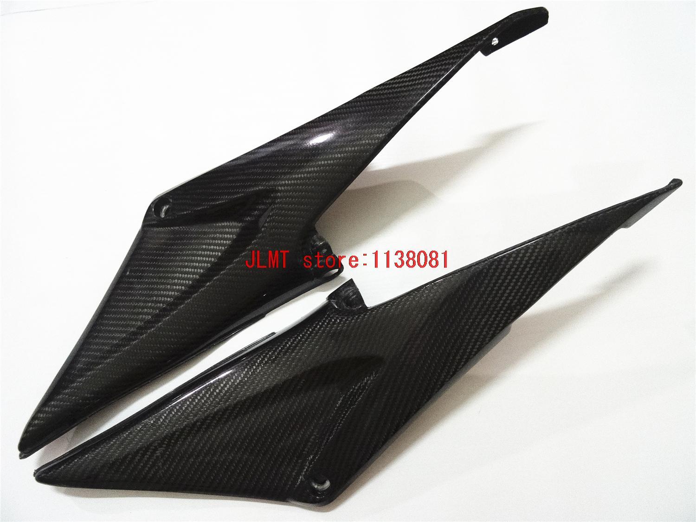 Carbon Fiber Tank Side Cover Panel FAIRING for Honda CBR600RR CBR600 RR CBR 600 RR CBR 600 RR 2005 2006 05 06 for honda cbr 600 rr 2005 2006 injection abs plastic motorcycle fairing kit bodywork cbr 600rr 05 06 cbr600rr cbr600 rr cb15