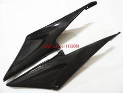 Carbon Fiber Tank Side Cover Panel FAIRING for CBR600RR CBR600 RR CBR 600 RR CBR 600 RR 2005 2006 05 06