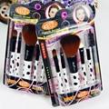 5 Pcs spot professional makeup brushes beauty Woman's Kabuki Cosmetic Makeup Brush Set tool/Foundation Brush pincel de maquiagem