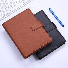 Luźne liści notebooki biurowe notatki ze spotkań College Student pamiętnik A5 odpinany Notebook