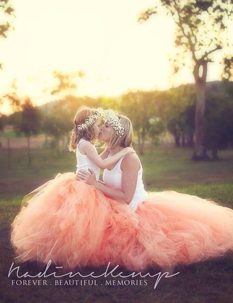 Maternity Tutu Skirt Photography Props Pregnant Women TUTU ball skirt Photo Shooting Fancy Maternity Lace Skirt
