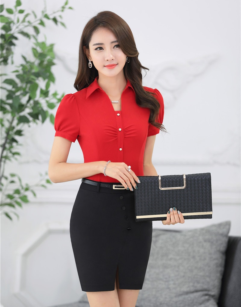 Red Formal Tops Promotion-Shop for Promotional Red Formal Tops on ...