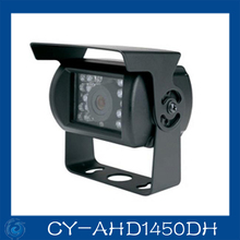 1/4 CMOS 18pcs led Waterproof aviation connector IP66 AHD 720P car cctv camera.CY-AHD1450DH
