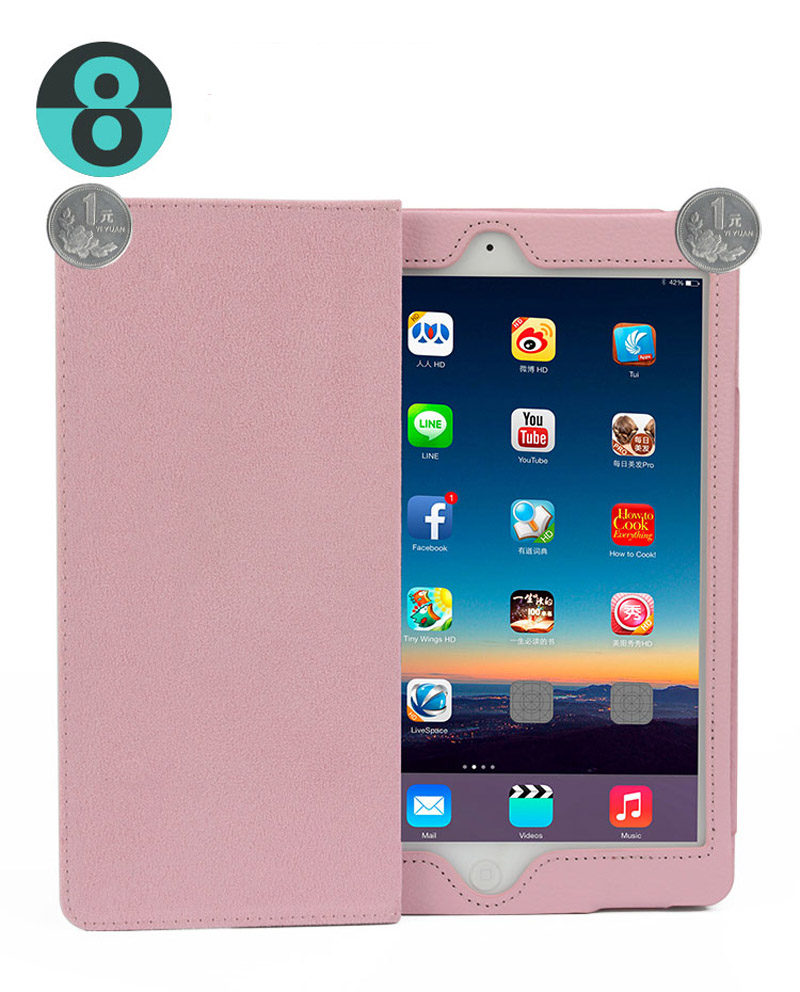 Case For iPad Air 1 Air 2 Smart Stand Auto Sleep  Wake UP Style For iPad Air 2 Retina Retro Flip Flexible Stand Slim Cover (23)