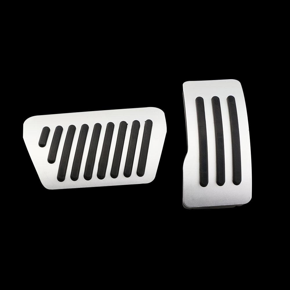 Jameo Auto 2Pcs/Set Gas Brake Pedal Pedals Cover for Mitsubishi Lancer Outlander ASX Pajero Eclipse Grandis FORTIS Zinger Parts