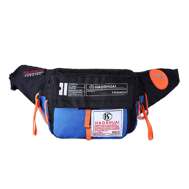 2019 Men Waterproof Nylon Fanny Pack Waist Bag Hip Bum Belt Messenger Shoulder Pouch Purse Sling Chest Bag