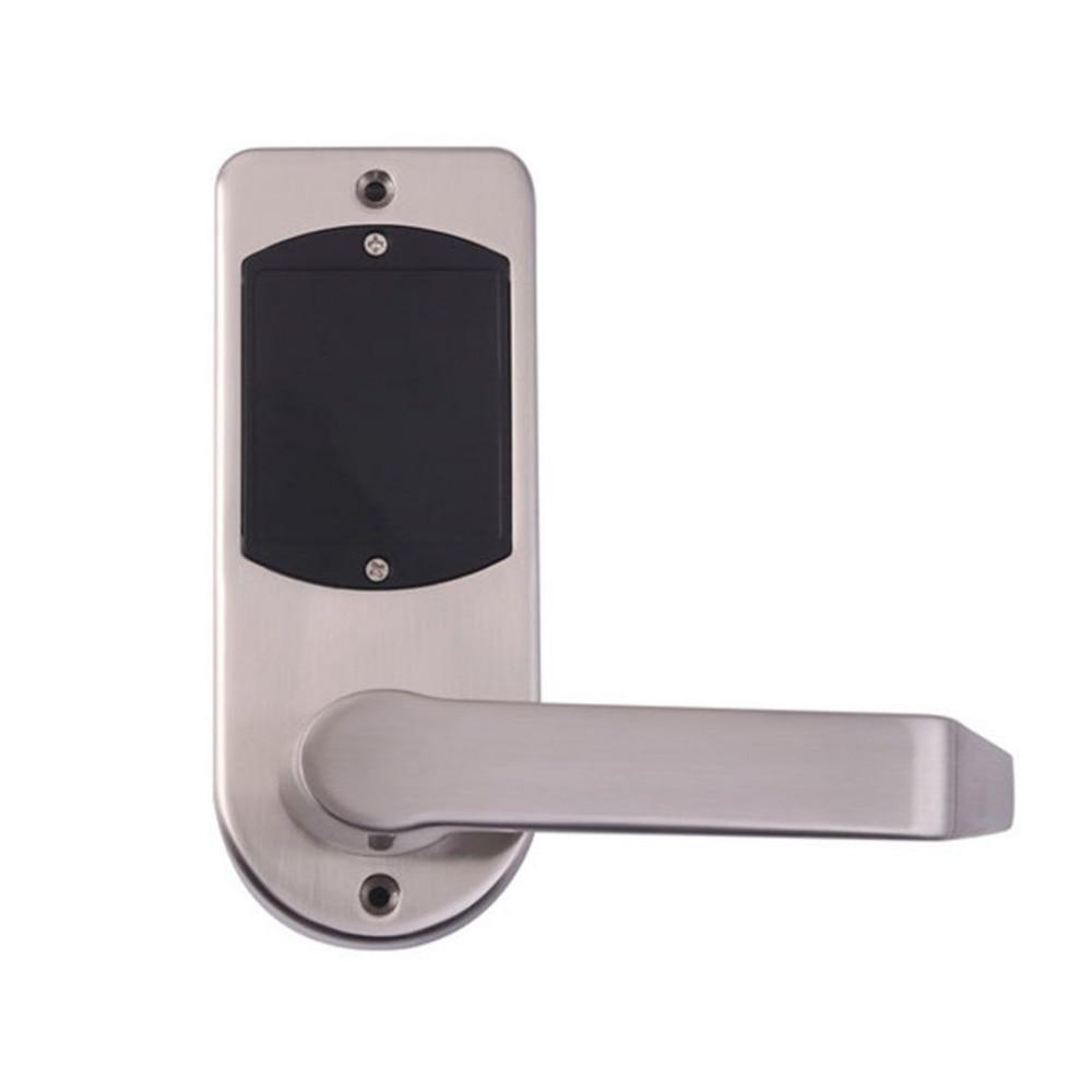 Smart Bluetooth Electronic Password Door Lock Touch Screen Digital Code Keypad ID Card Keyless Latch Bolt Lock keyless digital lock keypad password code spring bolt access electronic door locks l