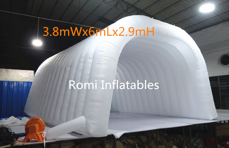 Free shipping inflatable wedding tent tunnel tent outdoor events tent advertising tent