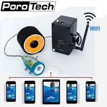 WF01WSL, 15 м, 30 м, 50 м, 1000TVL, WiFi, подводная камера, рыболокатор, видео камера, комплект, 12 шт., белые светодиоды, объектив, видео для ледового рыболокатора