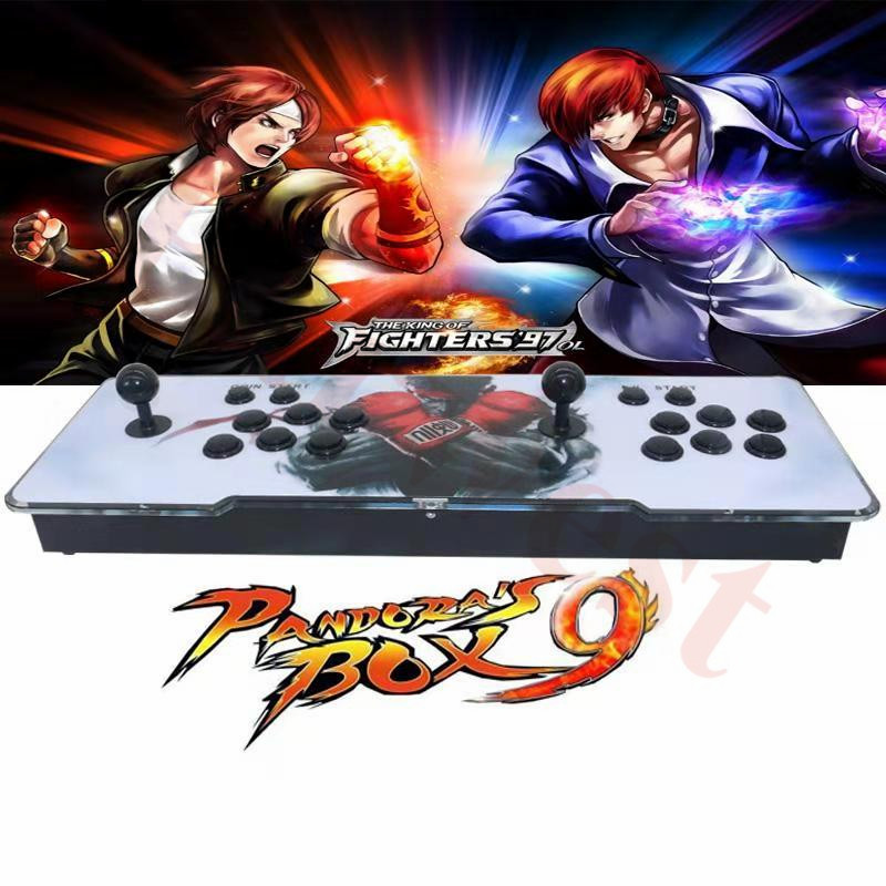 Nieuwste doos 9D Arcade Console Sanwa Joystick 2222 in 1 Home Arcade Video Games Doos met VGA HDMI Output Familie versie Game Board - 4