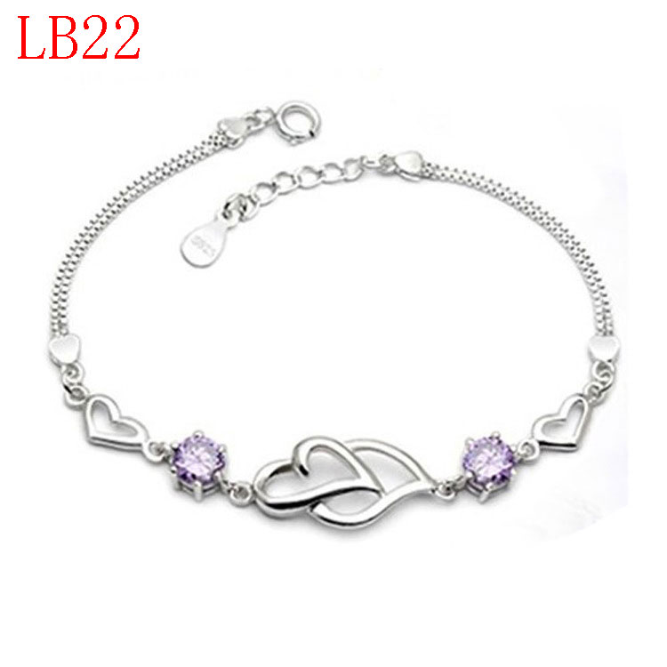 new arrive classical jewerly sliver bracelet for woman gift LB22