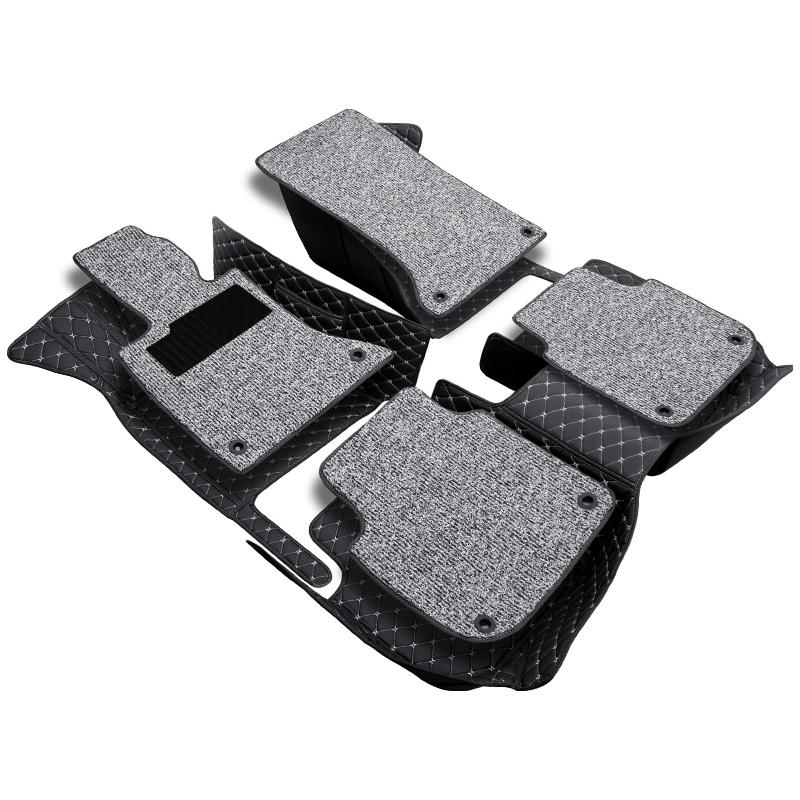Tapis de sol de voiture pour toyota prado 120 90 95 2015 accessoires toyota land cruiser prado 120 150 3d tapis de sol personnalisés pour voitures prado - 3