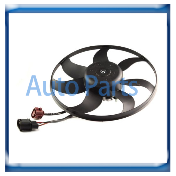 New Radiator Cooling Fan Motor Assembly for VW Golf Jetta ...