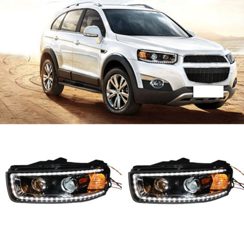 Headlights For Chevrolet Captiva With LED DRL And Bi-xenon Projector 2012-2015 chevrolet captiva fl в москве