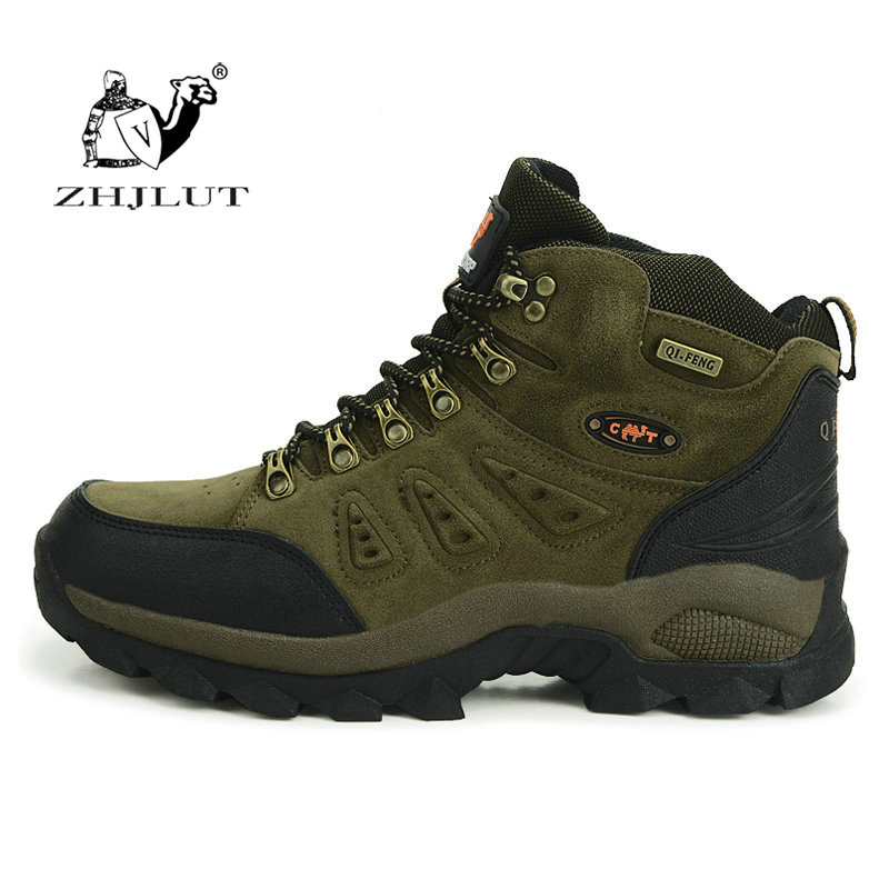 High Quality Unisex Hiking Shoes New Autumn Winter Brand Outdoor Mens Sport Cool Trekking Mountain Woman Climbing Athletic Shoes mans shoes mountain big size brand shoe men sport anti slippery hiking shoes mens good quality outdoor hiking trainers