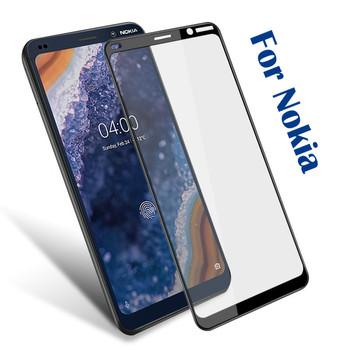 Premium hartowane szkło do telefonu Nokia 7 1 5 1 3 1 Plus 2 1X3X5X6 2018 9H Screen Protector dla Nokia 8 5 6 7 2 2 3 2 4 2 folia ze szkła tanie i dobre opinie NCSW Pokrowiec Wodoodporna Adsorpcji