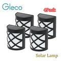 4PCS LED Solar Lamp IP55 Waterproof Solar night Light 6 LEDs Street Outdoor Path Roof Corridor Wall Lamp