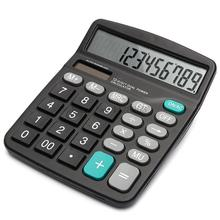 New Arrival Portable Office Commercial Tool Battery or Solar 2in1 Powered 12 Digit Electronic Calculator with Big Button