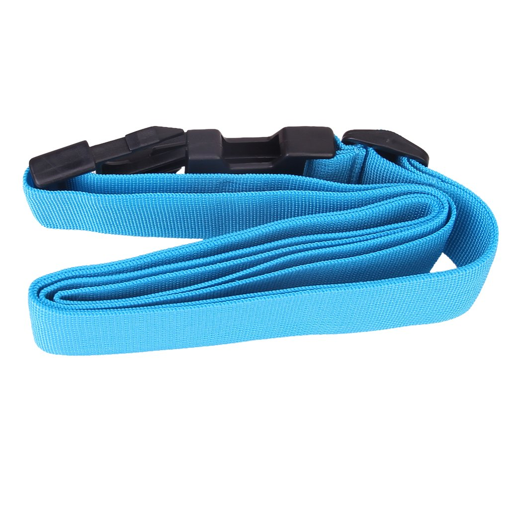 2X Packing Belt Suitcase Strap Safety Strap - Deepskyblue