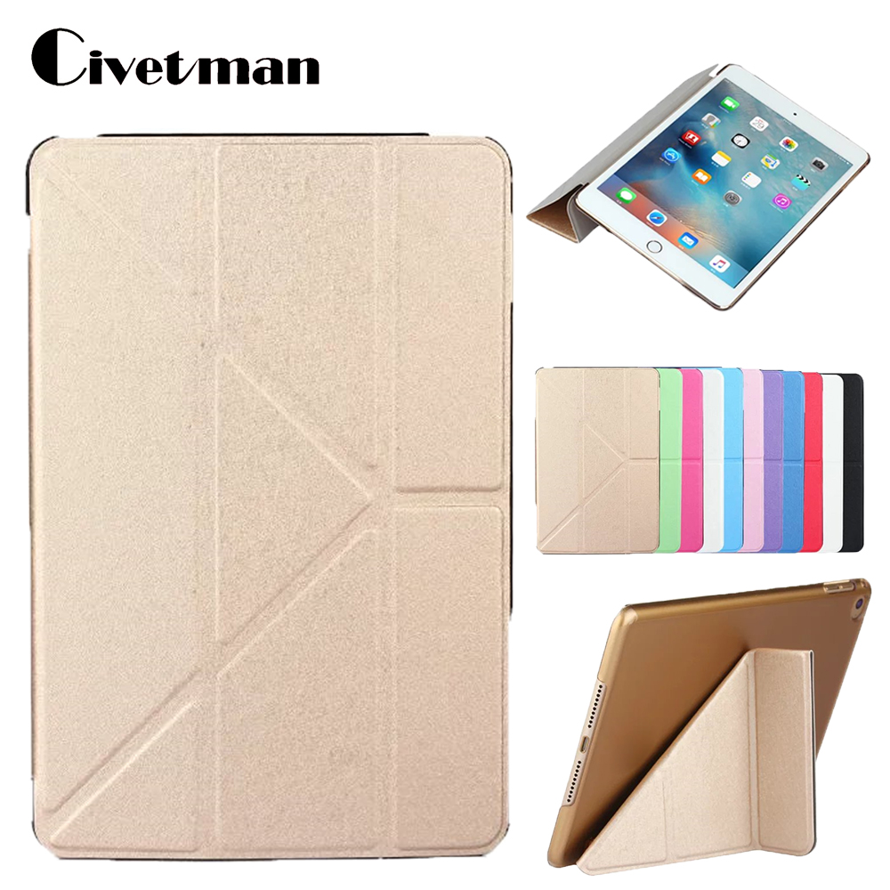 Case for IPad Mini4 Case Ultra-Thin PU Leather Stand Cover Elastic Skin Geometry Flip Cover for Apple IPad Mini 4 Case Fundas icarer retro case for ipad mini 4 7 9 new fashion real leather flip tablet case cover for apple ipad mini4 7 9 protective stand