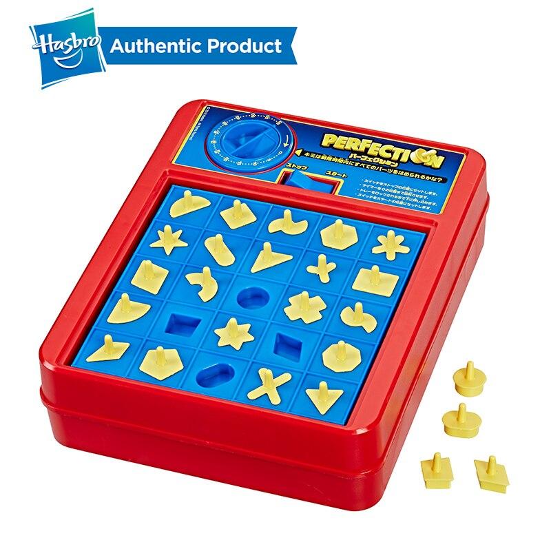 Hasbro Perfection jeu famille nuit plaisir jeu Hippos faim Trivial poursuite piège à souris ne pas briser la glace devinez qui enfants enfant - 3