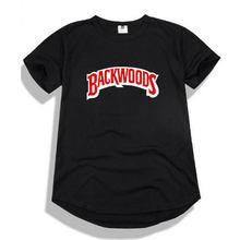 d2d4d9401123 Add to Wish List. Hip Hop Round hem Backwoods t shirt men camisetas hombre  print tshirt Boy Black Pink Gray
