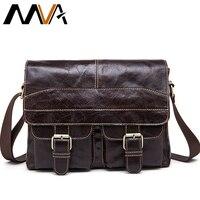 High Quality Genuine Leather Men Messenger Bag Men Leather Shoulder Bag Gift For Men Crossbody Purse