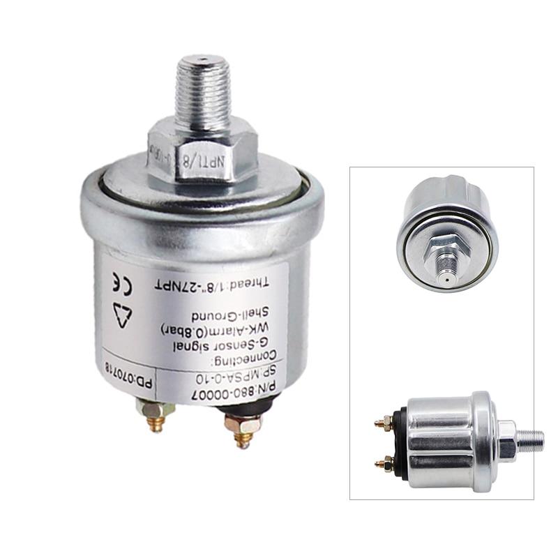 Engine Oil Pressure Sensor Gauge Sender Switch Sending Unit 1 8 NPT Car Pressure Sensors 10-184Ohm Signal