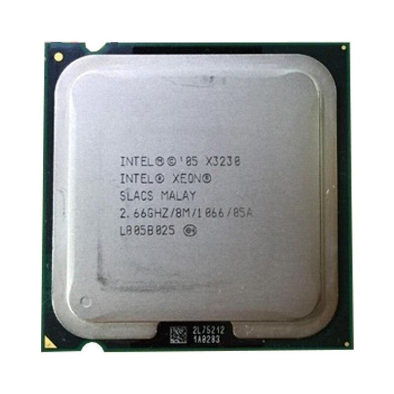INTEL Xeon Quad Core X3230 cpu (2.667 GHz/8 M Cache FSB/1333) ainda tem a venda Intel X3230 LGA775 CPU