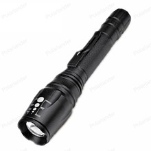 New arrival strong zoom Lengthen LED Flashlight Aluminum Alloy light beam concentration and stability LED lamp