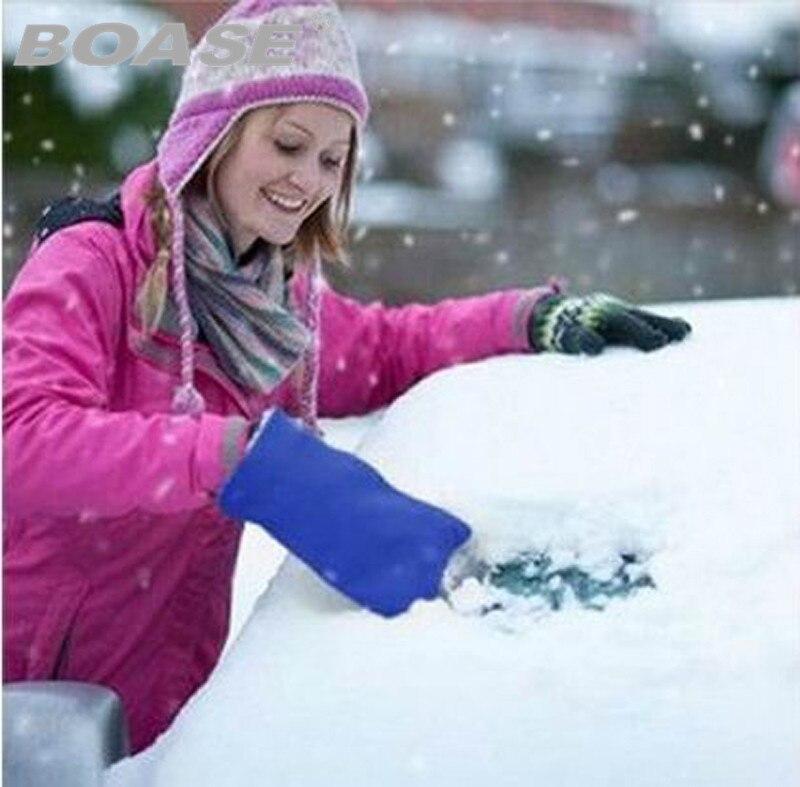 Free shipping!!! Hot sale car Ice Shovel Scraper mini snow shovel car ice scraper car tools keep you warm