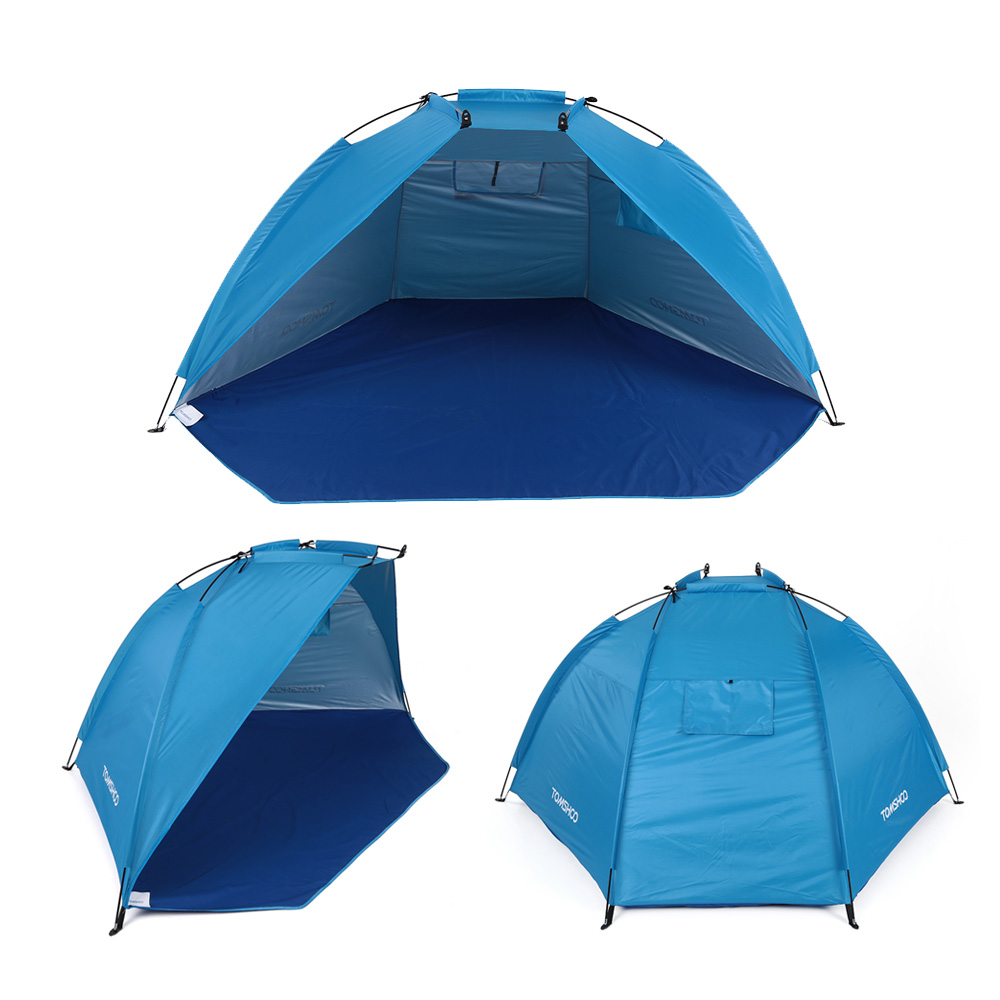 Image 4 - TOMSHOO Outdoor Sports Sunshade Tent for Fishing Picnic Beach Park Camping Tent Travel Tents Outdoor Camping-in Tents from Sports & Entertainment
