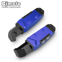 motorcycle cnc Foot Pegs pedals Footrests For Yamaha YZF R15 R25 R3 MT 03 MT25 MT07 MT09 FZ1 FZ6 FZ6R XJ6 T MAX530 TMAX500 XJR